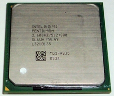 Intel Sl6Wh 2.8Ghz Cpu - 512Kb Cache, 800Mhz Fsb - Socket 478