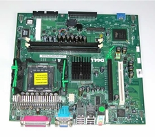 D7726 Dell Motherboard System Board For GX280 Sff 2 Memory Slots, 1