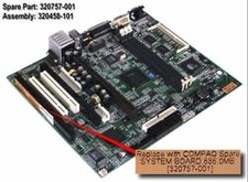 320458-101 Compaq System Board With 4Mb Ram / Nic