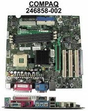 246858-002 Compaq Motherboard System Board Spider-S With Nic