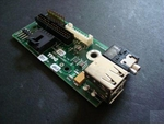 Dell 91NMP front USB and audio board for Opti GX