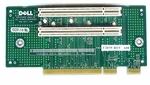 U2039 Dell Riser Board 2 PCI Slots w/o metal bracket