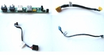 394052-001 HP Front I/O panel with audio & USB cables DC7600USDT