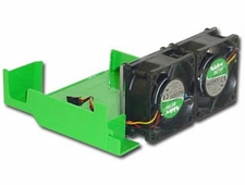 Dell 0X995 cooling fans, qty 2,  with shroud SX260, SX270