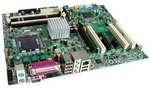HP 383595-002 System board - for XW4300 Workstations 1066 MHz FSB, Intel 955X express - Integrated 4 channel SATA drive controller with RAID