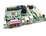 HP 434346-001 System board (Revision 3) for DX2200, Pavilion b2025br - Includes integrated LAN and audio - Socket T (LGA775)
