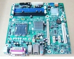 HP 447583-001 System board (motherboard) with Intel Q33 Chipset for DX7400, DX7408 Mini-Tower (MT)