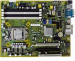 HP 531991-001 System board (motherboard) - For Elite 8000, 8100 Series Small Form Factor (SFF) PC (Piketon)