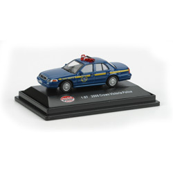 Model Power 1/87 NY State Police 2005 Crown Victoria Police Car HO Scale