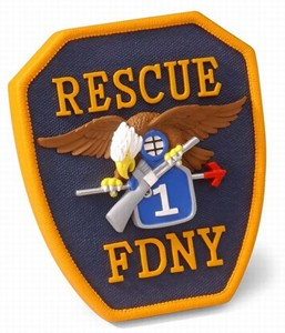 Code 3  FDNY Rescue Co. 1 Patch (13020)