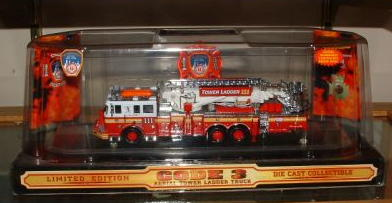 Code 3 FDNY Aerialscope Tower Ladder - 111 (12730-0111)