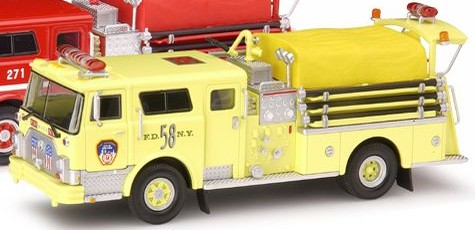 Code 3 FDNY Mack CF Pumper 58 Yellow (12355-0058)