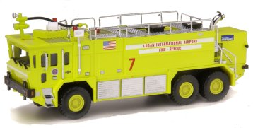 Code 3 Boston Logan International Oshkosh Crash Truck (12152)
