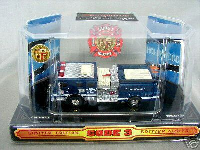Code 3 Pumper - LA Hollywood Blue (12303)