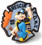 Code 3 Rescue FDNY Co.4 Patch (13023)