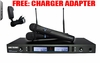 "SINGTRONIC UHF-1500 PROFESSIONAL RECHARGEABLE WIRELESS MICROPHONE SYSTEM <font color=""#FF0000""><b><i>HIGHLY RECOMMENDED !</i></b></font>"