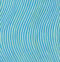 Blue Waves Wallpaper in In The Groove