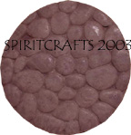 "ROUND ROCK PAVER STEPPING STONE MOLD (16.5"" DIA)"