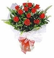 12 Red Roses Presentation Bouquet