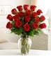 Valentine Eighteen Roses Arranged-