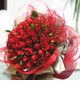 Valentine day Red Roses Hand Bouquet