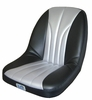 Rhino Silver/Black Seat Covers (Pair)