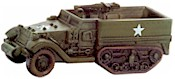 Axis & Allies Set II M5 Half-Track  22/45 Uncommon