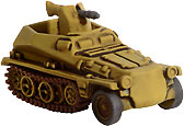 Axis & Allies D-Day Sd Kfz 250 # 36/45 - Uncommon
