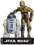 C-3P0 and R2-D2 # 5/60 Rare