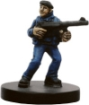 Axis & Allies Reserves French Resistance Fighters 3/45 - Common