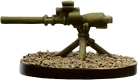 Axis & Allies Reserves M20 75mm Recoilless Rifle 18/45 - Common