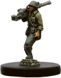 Axis & Allies Reserves  Stalwart Hero 38/45 - Uncommon