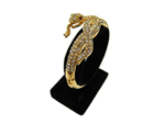 Snake Rhinestone Bangle Bracelet