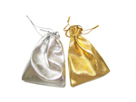 Silver or Gold Gift Pouch