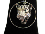 Silver Tiger Necklace