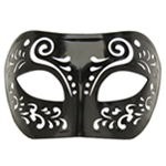 Dream Tale Black Venetian Masquerade Mask