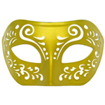 Dream Tale Gold Venetian Masquerade Mask