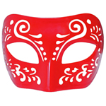 Dream Tale Red Venetian Masquerade Mask