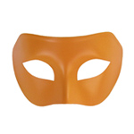 Orange Venetian Masquerade Mask