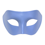 French Blue Venetian Masquerade Mask