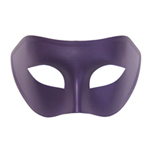 Purple Venetian Masquerade Mask