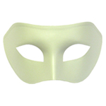 Light Green Venetian Masquerade Mask