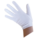 Child White Costume Gloves