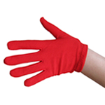 Child Red Costume Gloves