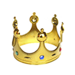 Royal Gold King Crown