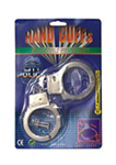 Silver Metal Handcuffs With Keys