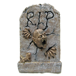 3-D Horror RIP Tombstone Wall Decoration