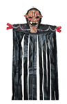 Chained Demon Door Topper with Curtain