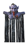 Death Keeper Door Topper with Curtain