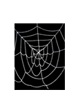 4.5' ft Deluxe Large Spider Web